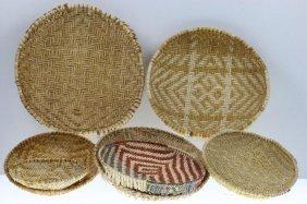 Seven Hopi Piki Trays