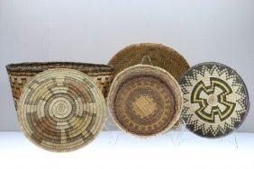 Five Hopi Baskets