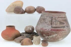 Group Of Southwest Prehistoric Items
