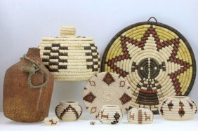 Ten Southwest Basketry Items