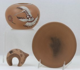 Three Pueblo Items
