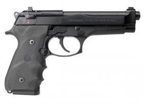 Beretta 92fs Brigadier 9mm Black 15+1 Wraparound Rubber