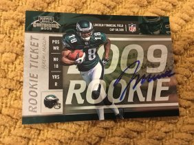 2009 Jeremy Maclin Rookie Contenders Auto On Card