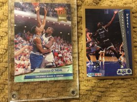 Shaquille O'neal 1992-93 Fleer And Fleer Ultra Rc Lot