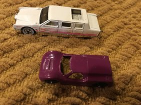 Vintage Tootsie Toy Car And A Diecast Car Lot