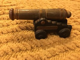 Fort Frederica National Monument Iron Cannon Miniature
