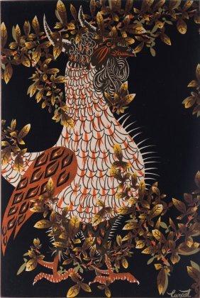 Jean Lurcat Bestiaire Tapestry 1950s 166 X 111 5
