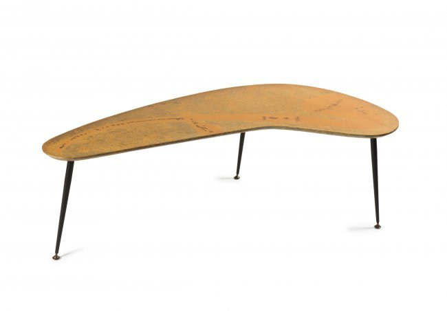 39 Boomerang 39 Coffee Table 1950s Lot 42