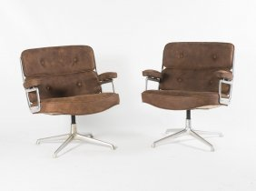 Two 'time Life' Armchairs, 1960