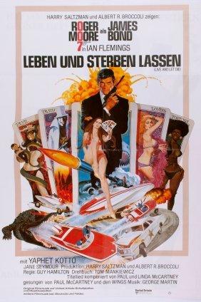 German 'james Bond - Leben Und Sterben Lassen', Movie