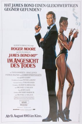 German 'james Bond - Im Angesicht Des Todes', Movie