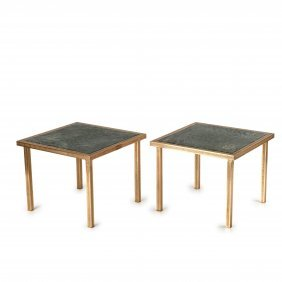 Two Side Tables, 1930/40s