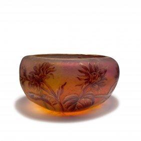 Large 'tournesols' Bowl, C1900