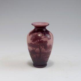 'paysage Lorrain' Vase, 1920s