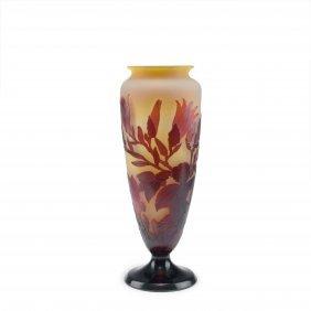 Tall 'magnolias' Vase, 1920s
