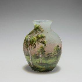 'lamartine' Vase 'paysage', C1910