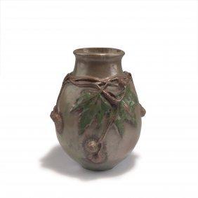 'oak Leaves' Vase, C1900