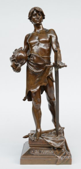 Bofill A., 'en Triomphe', Bronze, H 52 Cm (sword With