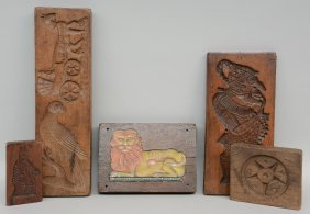 A Rare Lot Of Various 18thc - 19thc - 20thc Gingerbread