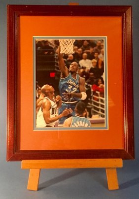 Shaquille O'neill Autographed Photograph