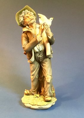 Vintage Cordese Hobo Figure Made In Italy