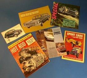 Vintage Hotrod Buick Ford Pontiac Magazine Brochure Lot