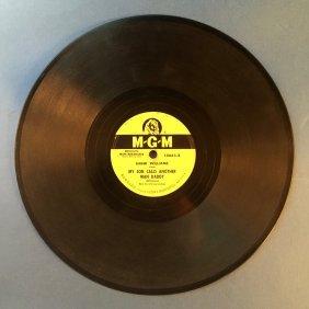 Vintage Hank Williams 78 Record