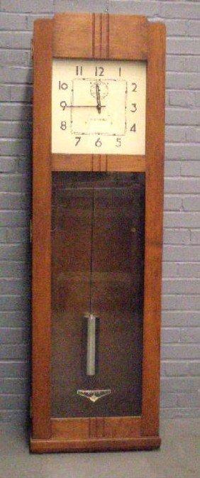 International Ibm Electric Master Wall Clock Lot 1240