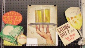 1940's & 1960's Beer Ad Campaign Designs