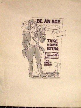 1970's Schmidt's Beer Ad Campaign Designs