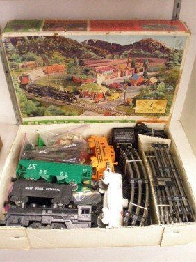 Marx electric trains 666 720p
