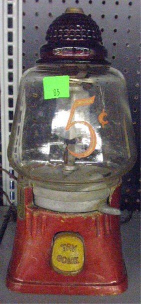 Silver King Hot Nuts Coin Operated Machine