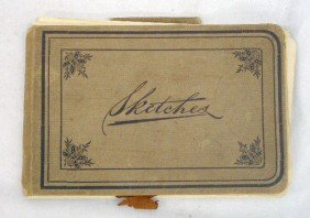 1889 Frank J. Dillon Sketchbook