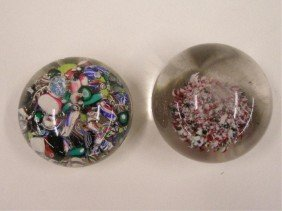 Antique Glass Paperweights