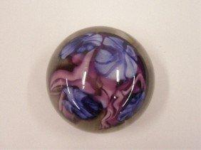 Contemporary Art Glass Paperweight