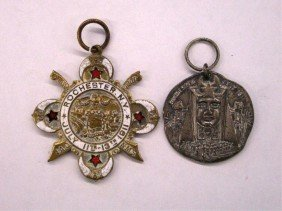 1911 Shriners Council Session Medallions