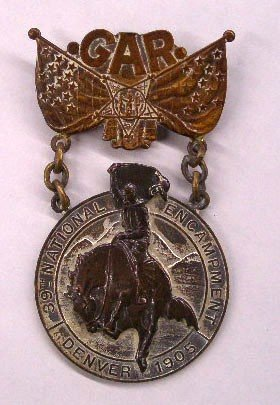 1905 Grand Army Of The Republic Badge