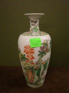 19th C. Famille Rose Vase
