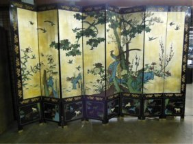Chinese Coromandel Screen