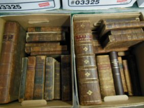 Assorted 18th/19th C. American/European Books