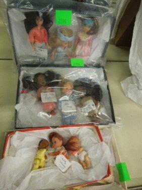 12 Assorted Mattel Smaller Dolls