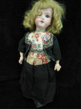 Armand Marseille Bisque Head Girl Doll