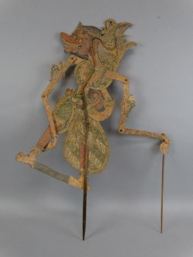 Indonesian Hide Shadow Puppet