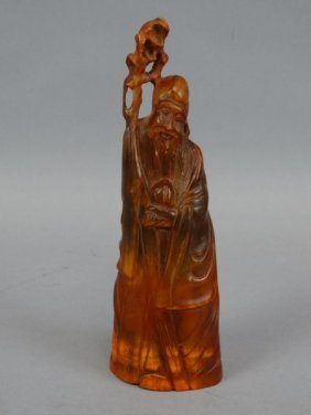 Chinese Horn Carving - Immortal