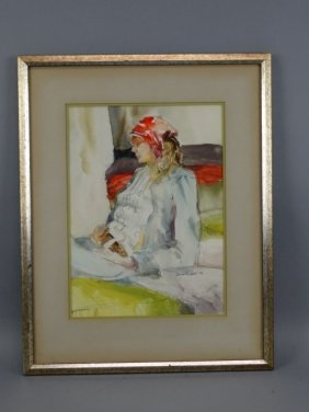 David Snyder - Framed Watercolor Painting