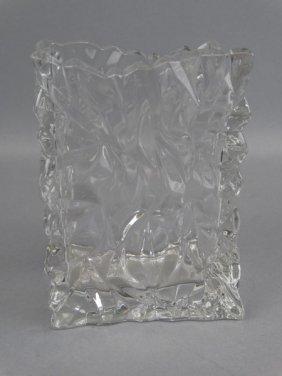 Rosenthal Studio Line Crystal Bag