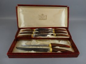 Sheffield Crown Crest Stainless Carving Set