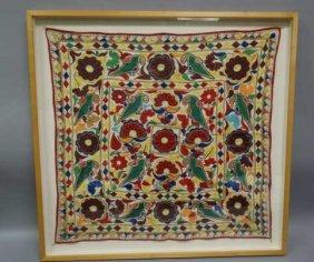 Framed Peruvian Textile