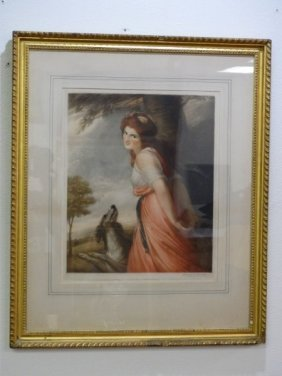 George P. James - Colored Lithograph