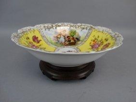 Austrian Porcelain Bowl